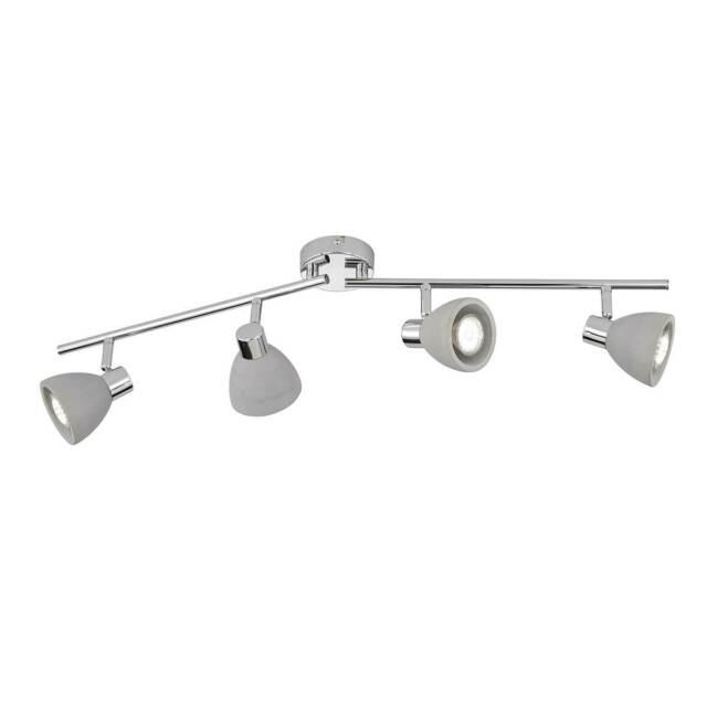 Decken Beleuchtung Beton grau Flur Küchen Strahler Spot