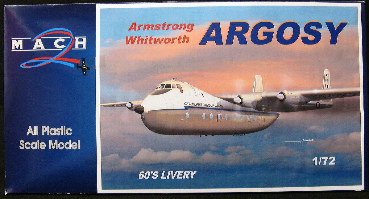 Mach 2 Models 1 72 ARMSTRONG WHITWORTH ARGOSY 1960s R.A.F. Livery
