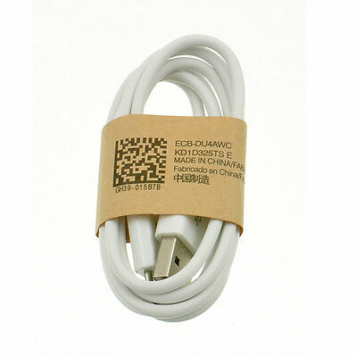 New White USB Sync Charger Data Cable Cord For Samsung Galaxy S2 S3 S4 Mini Note
