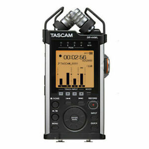 Tascam DR-44WL Portable Handheld Linear PCM 4-Channel Audio Recorder with  Wi-Fi