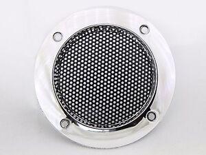 grille haut parleur chrome 2 39 39 65mm bornes d 39 arcade et bartop ebay. Black Bedroom Furniture Sets. Home Design Ideas
