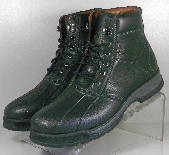 253131 SPBT50 Men's Boots Size9 M Black Leather Lace Up Johnston & Murphy