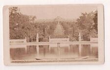 Vintage CDV Sanssouci summer palace Frederick the Great Prussia Potsdam Germany