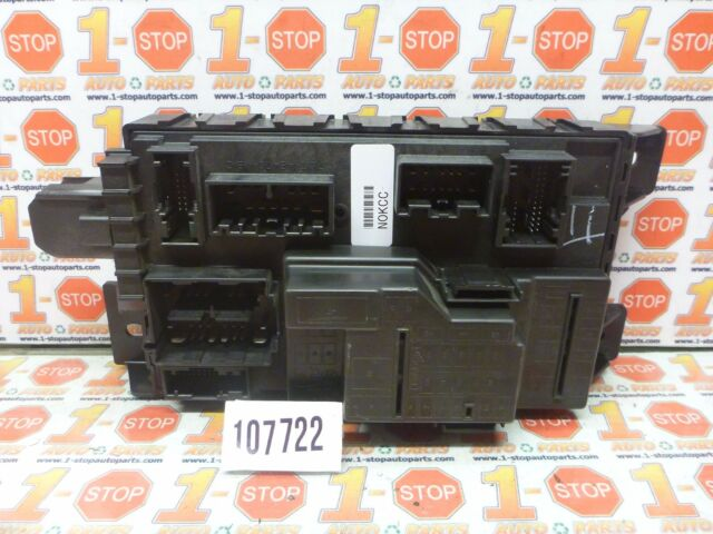 09 2009 FORD FOCUS MULTIFUNCTION SMART FUSE BOX MODULE 7L1T-14B476 Where Is The Fuse Box In A Ford Focus on