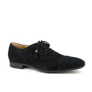 1c0d7281e Gucci Men's Black Suede Cambridge Brogue Oxford Shoes 7 / US 7.5 ...