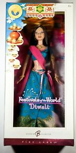 2006-Barbie-Collector-Festivals-of-the-World-Diwali-Pink-Label-Keepsake-Doll