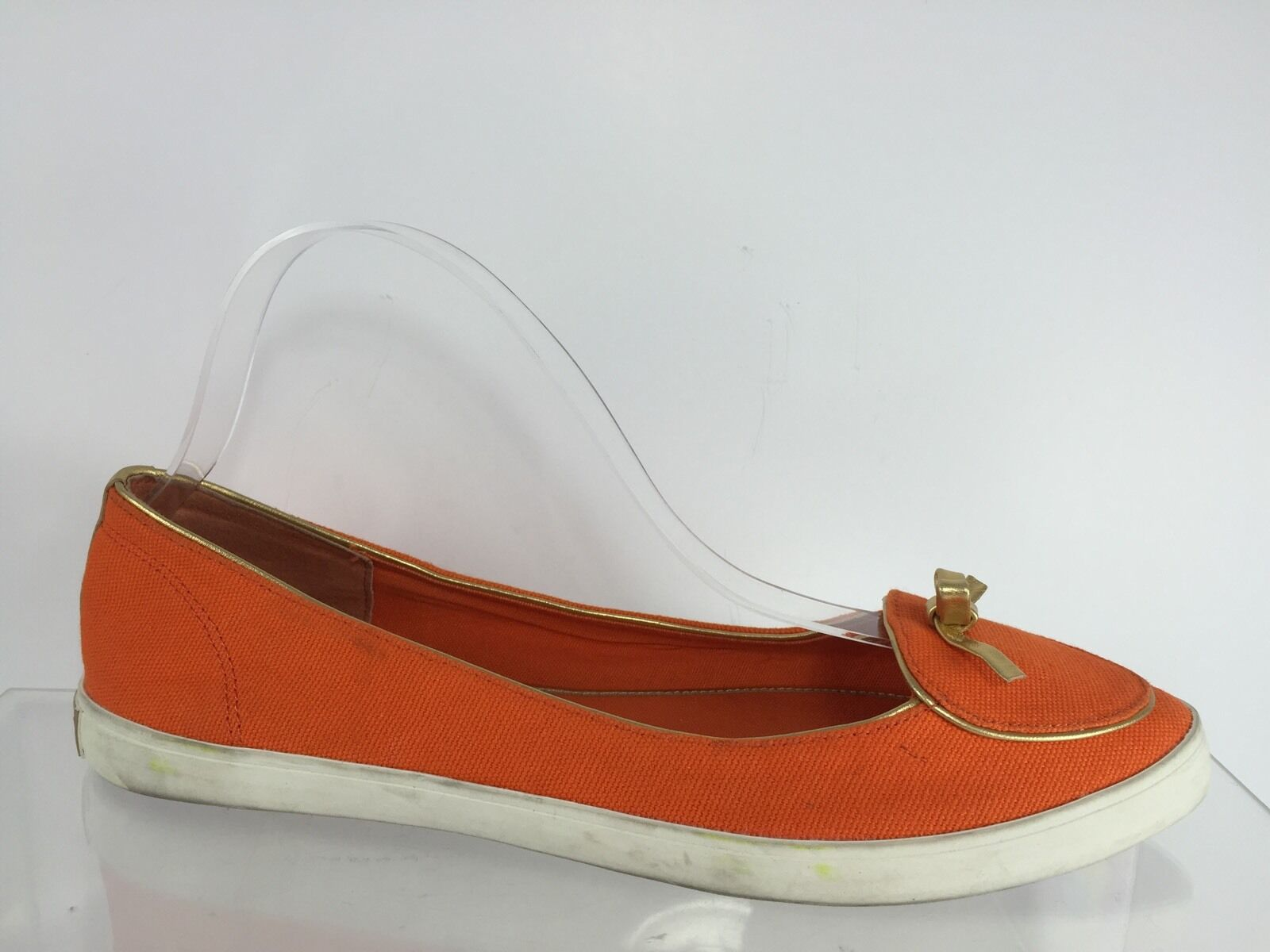 Tory Burch pour femme Orange Flats 8 m