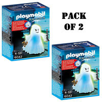 Pack Of 2 Playmobil Castle Ghost With Rainbow Led Playset Building Kit Ages 4-10 on Sale