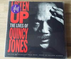 "Quincy Jones ""elenchi up-the LIVES OF QUINCY JONES"" LIMITED EDITION BOX"