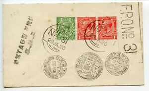 PALESTINE-1920-1-29-Indian-FPO-31-philatelic-pmks-but-some-rare-to-Geo-King