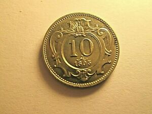 Austria : 10 Heller 1911 . SPL .