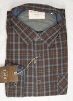 Men's Vintage 1948 Weatherproof Button Down Shirt Plaid Or Solid M-xxl