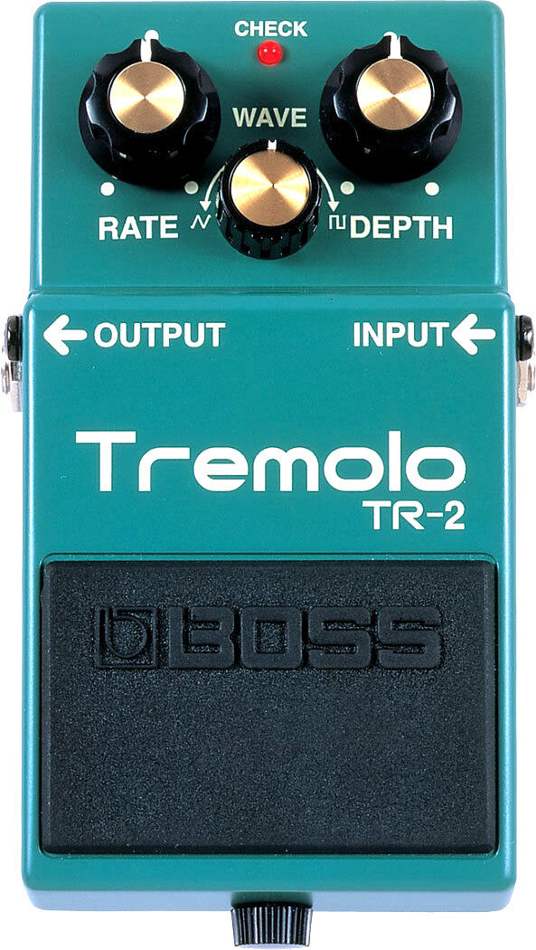 Boss Tremolo TR-2 Tremolo Guitar Effect Pedal FREE PRIORITY SHIPPING
