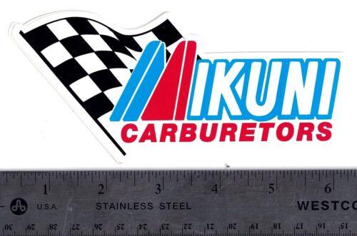 IKUNI CARBURETORS STICKER Ikuni Carburetors 6 in x 2.75 in Automotive Decal