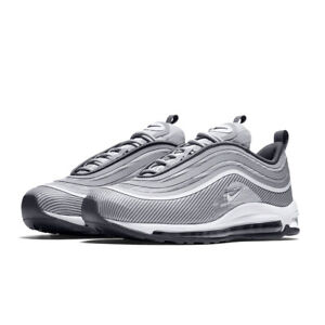 Nike Men's Air Max 97 Ultra 17 Wolf GreyWhite 918356 007