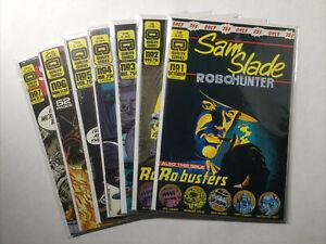 Sam Slade Robo Hunter 1 2 3 4 5 6 7 Lot Run Set Near Mint- Nm- 9.2 Quality Comic