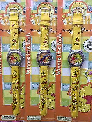 Lot kids Winnie the pooh Wristwatch Watches Children Cartoon watch Party gifts