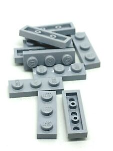 Lego 10 New Blue Plates 1 x 3 Pieces