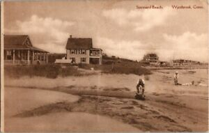 Vintage Stannard Beach Westbrook CT Connecticut Postcard