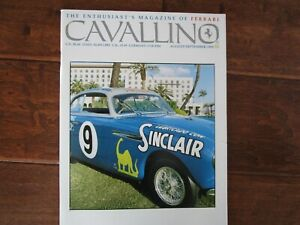 VINTAGE-CAVALLINO-FERRARI-MAGAZINE-NUMBER-88-August-1995