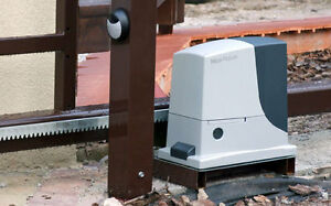 Nice ROBUS 600 automatic opening kit for sliding gates up to 600 kg ...