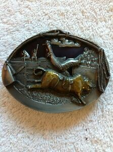 RODEO-BULL-RIDER-BELT-BUCKLE-BUCKLES-OF-AMERICA-MASTERPIECE-COLLECTION-BA-180