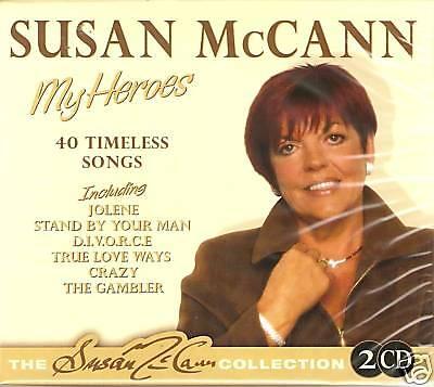SUSAN McCANN MY HEROES 2 CD BOX SET 40 TIMELESS SONGS