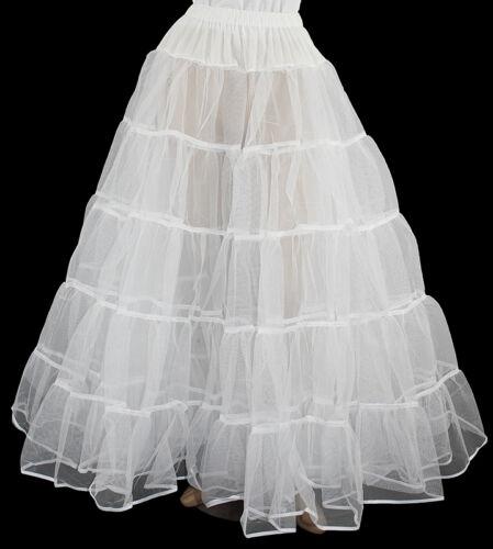 WHITE CRINOLINE 4 VICTORIAN CIVIL WAR DRESS SIZE XL//3X