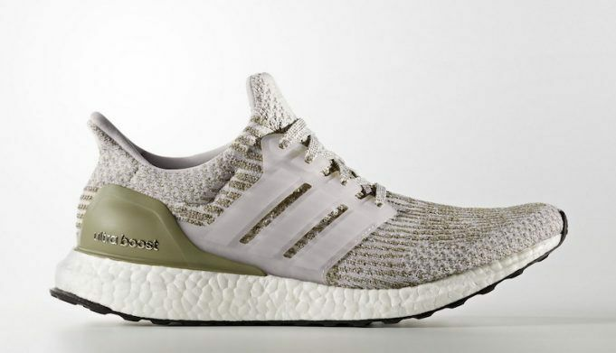 Adidas Ultra Boost 3.0 size 12.5 Pearl Grey/White. BA8847. Olive trace cargo NMD