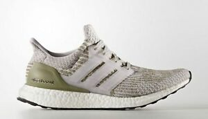 2112090b712 Adidas Ultra Boost 3.0 size 8.5 Pearl Grey White. BA8847. Olive ...