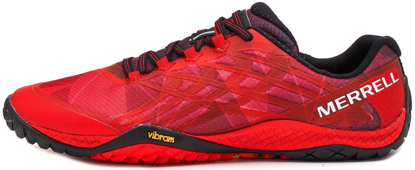 Merrell Trail Glove Glove Glove 4 Scarpe da ginnastica in lava FUSA Rosso J09667 a359b9