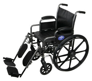 Medline-K2-Basic-Wheelchair-with-18-034-Wx16-034-D-Seat-Elevating-Legrests-MDS806300EV