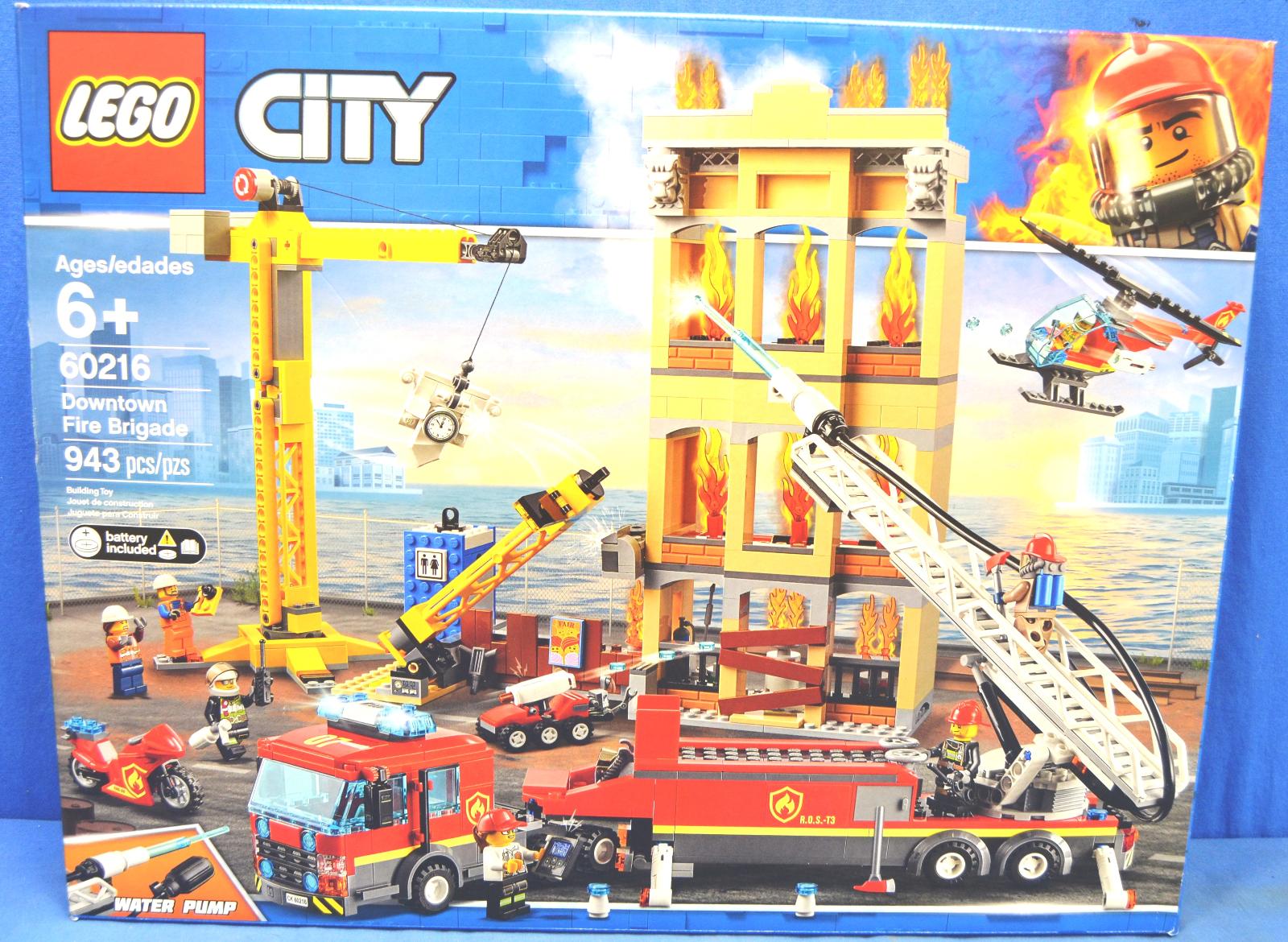 LEGO LEGO LEGO City Fire Downtown Fire Brigade 60216 07ab1f