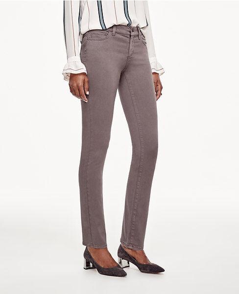 Ann Taylor - Size 14 (LARGE) Dark Dove Modern Skinny Jeans  (53)