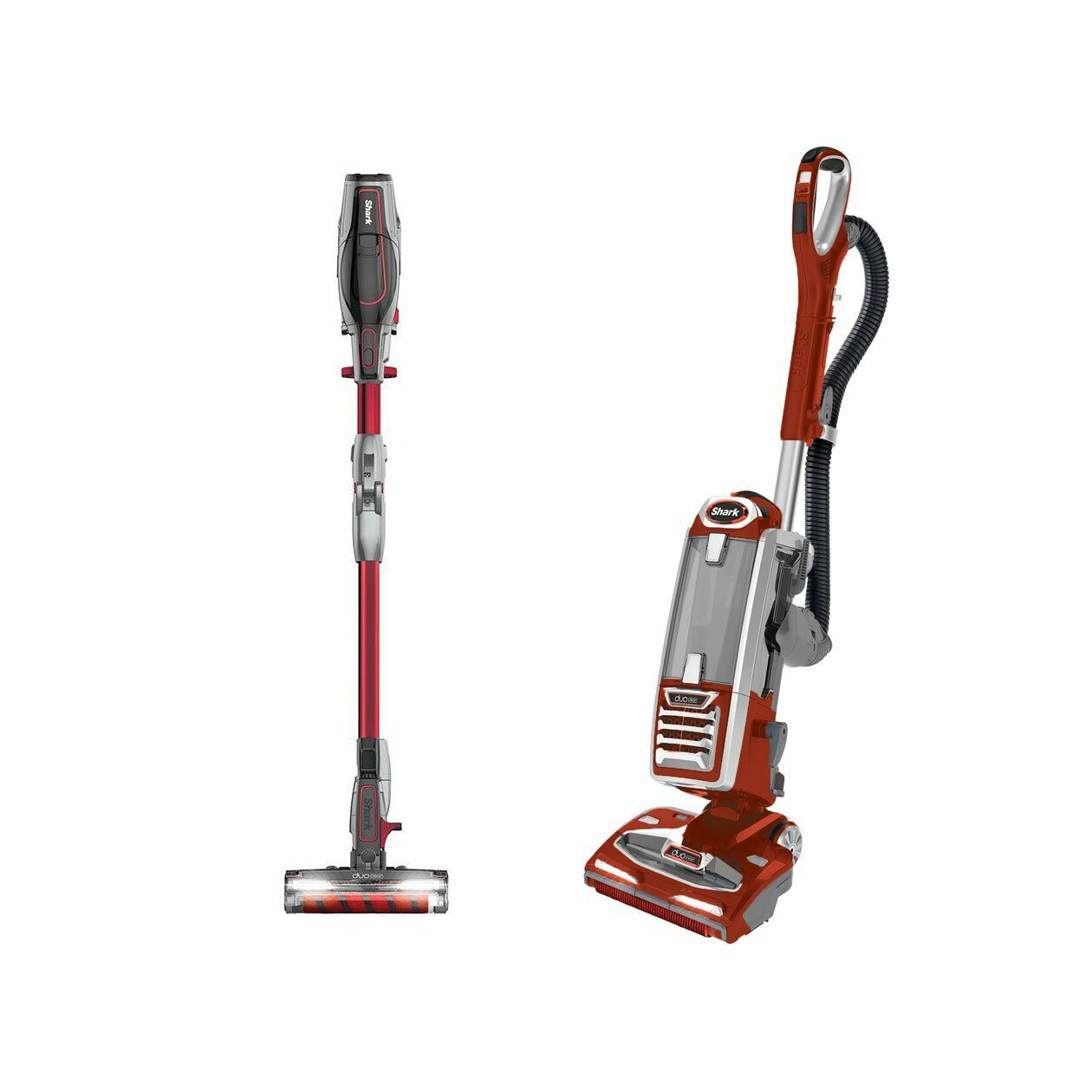 Shark IONFlex Vacuum & Shark Powered Lift Away Vacuum (Certified Refurbished)