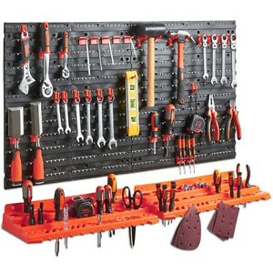 garage tool organizer tools organizer garage wall tool rack storage kit home 15753