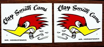 10 Decals ~ Clay Smith MR HORSEPOWER Hot Rat Rod Muscle Car Mooneyes Sticker