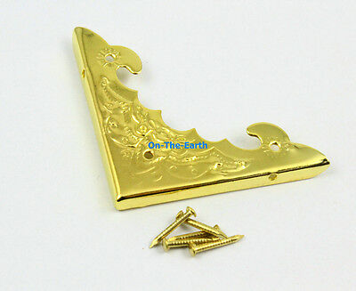 40 Pieces 39mm Gold Jewelry Box Corner Gift Box Corner Protector