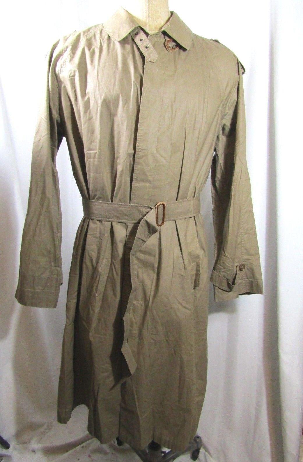 HERNO Confezioni di Lusso  Light Trench Coat Größe 52 / XXL