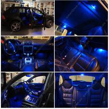 For Mazda CX-5 2013-2016 Blue LED Interior Kit + Xenon White License Light LED
