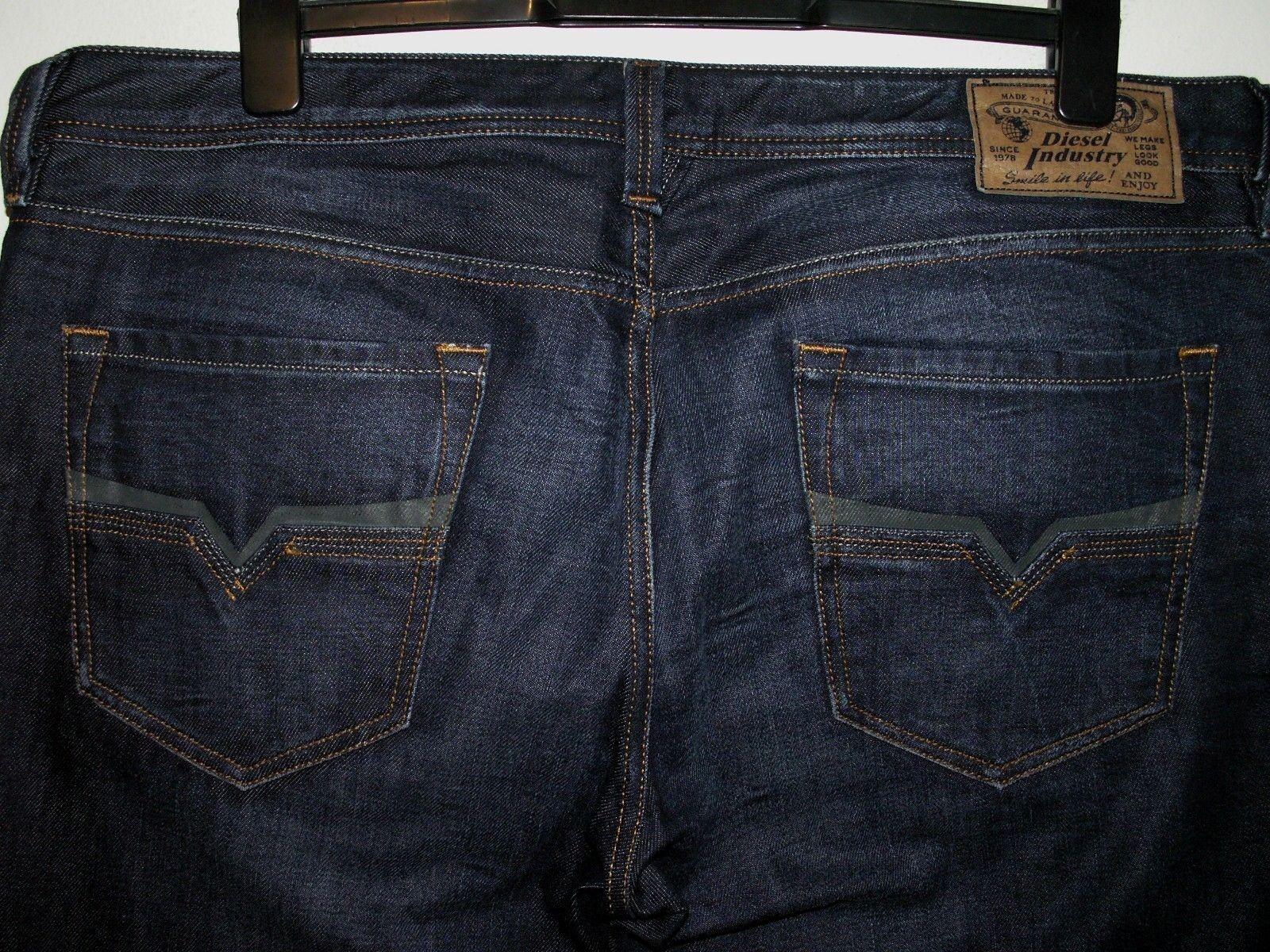 Diesel Larkee Regular-Straight Fit Jeans 0073N W38 L32 (5612)