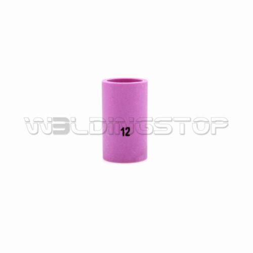 """10pcs TIG Welding Torch 54N19#12 Short Alumina Nozzle Cup1/""""7//8 fit WP17 18 26"""