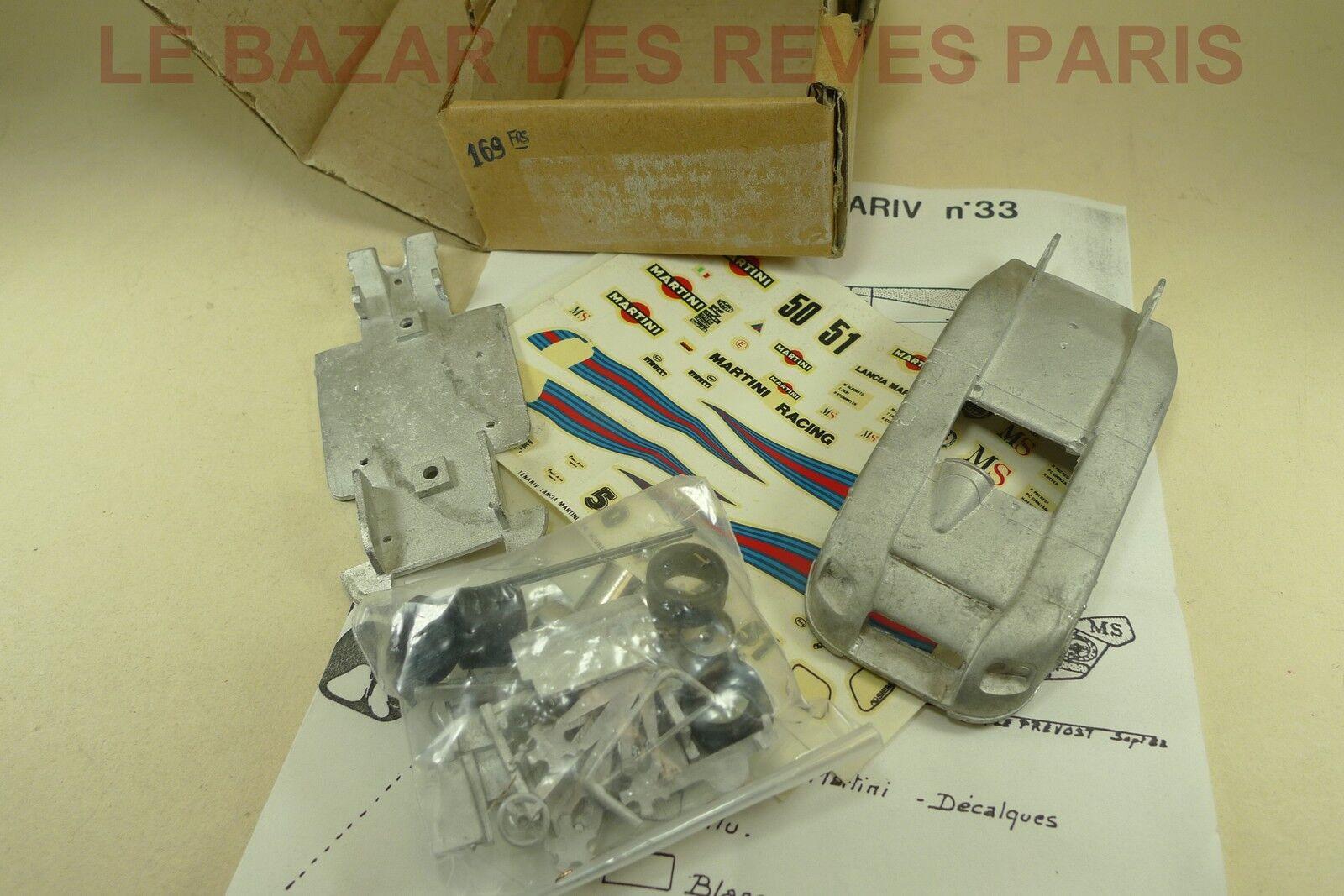 TENARIV.  LANCIA GR 6.  Le Mans 1982.   Kit  métal.    échelle 1 43