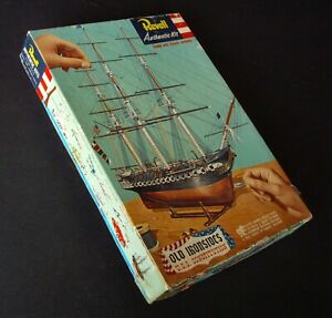 "USS Constitution ""Old Ironsides"" Vintage Revell USA Dated 1956 ""S"" Box."