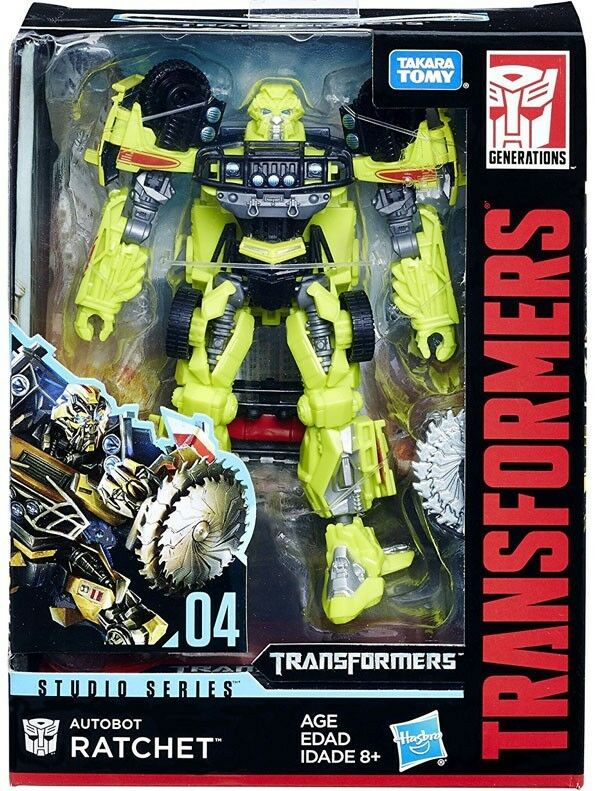 Transformers Studio Series Ratchet Deluxe Action Figure