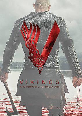 Vikings: The Complete Third Season 3 Three (DVD, 2015, 3-Disc Set) New