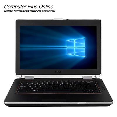 """HDD or SSD Win 7//10 Pro Core i7 Quad Dell E6420 14.1/"""" Laptop HDMI 6//8//16Gb"""