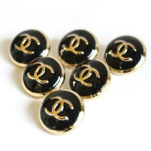 100-Chanel-buttons-6-pieces-metal-cc-logo-22-mm
