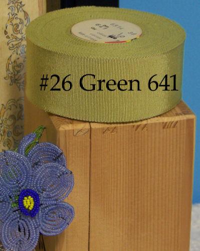 """Bty Pick Color Vintage 1.5 /""""francés de cinta de Grogrén petersham Algodón Rayón Sombrero"""