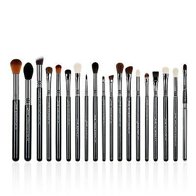 19pcs Precision Brushes set Blending Eyeshdow pencil Eyeliner Brow brush T131